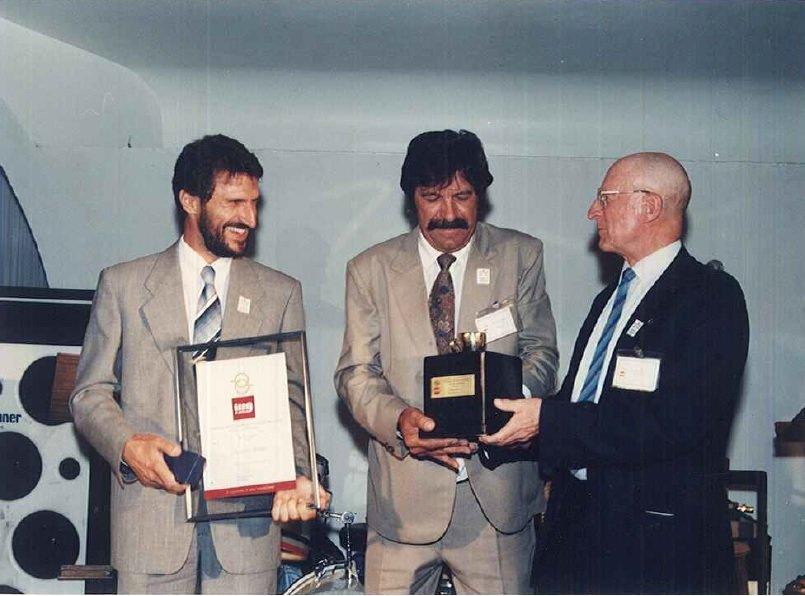 1º Prêmio Brasil de Qualidade do Café para Espresso, em 1991