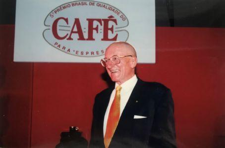 Ernesto Illy, idealizador da premiação